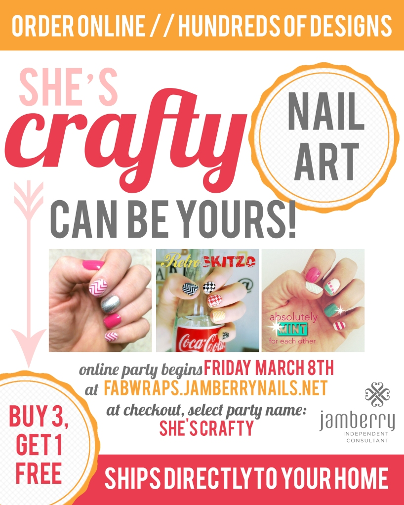 jamberry online party flyer copy