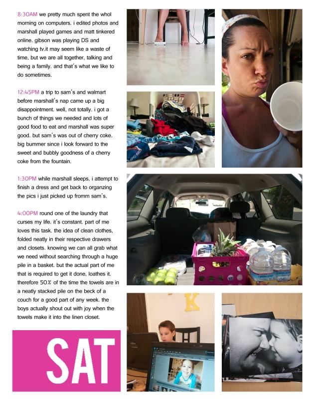 7-SATURDAYmorningafternoon_collage